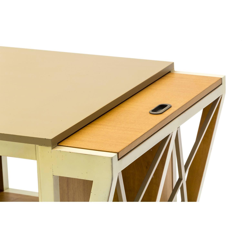 tavolino da salotto con tiretti laterali bicolore with tavolini da salotto etnici