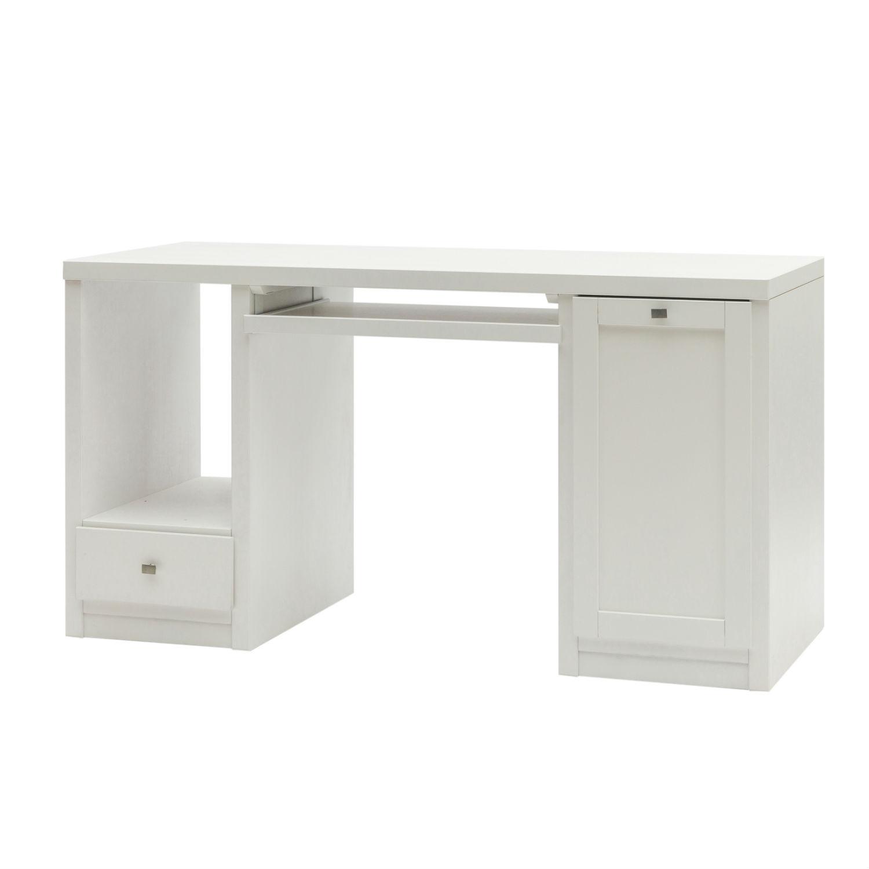 Scrivania base moderna in legno prezzo conveniente - Porta computer bianco ...