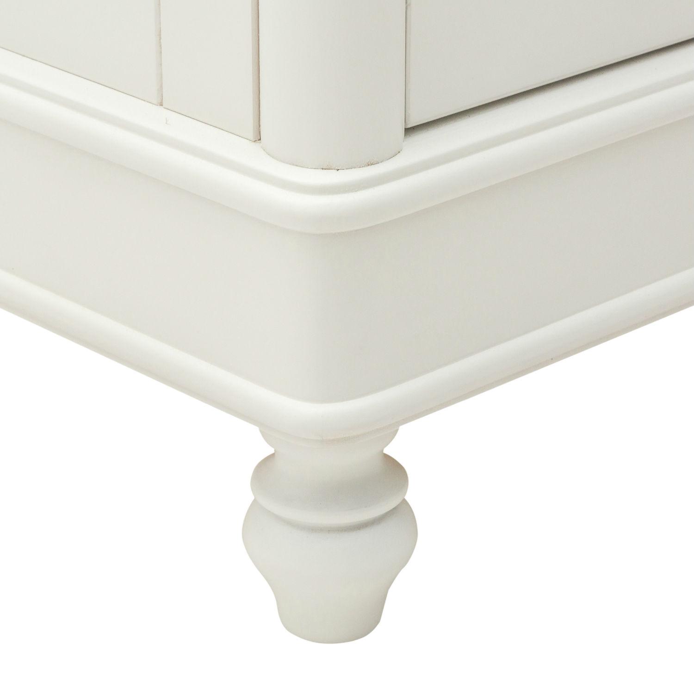 Mobile classico porta tv in legno laccato bianco - Mobile porta tv classico legno ...
