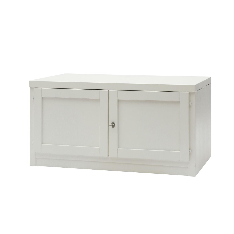 Mobile moderno porta tv in legno laccato bianco a due ante - Mobile porta tv legno design ...