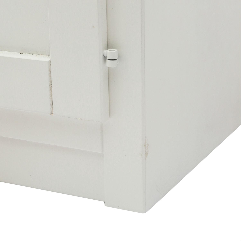 Mobile moderno porta tv in legno laccato bianco a due ante il miglior design a prezzo imbattibile - Mobile laccato bianco ...