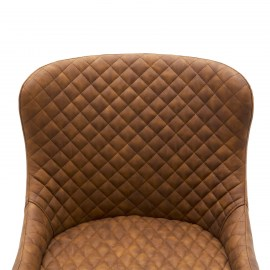 poltroncina-in-ecopelle-marrone-a-rombi-3