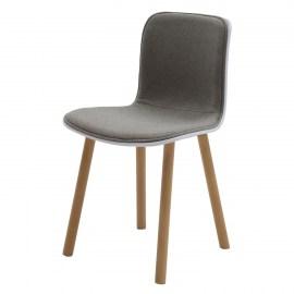 Sedie imbottite trova tutte le sedie adatte alla tua casa for Sedia bianca moderna
