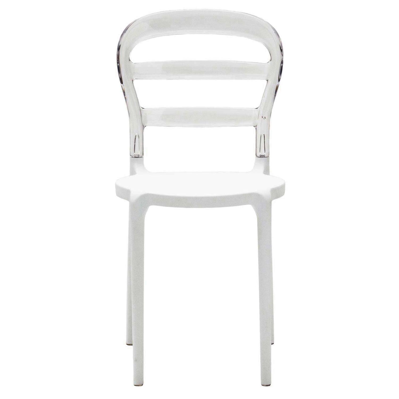Awesome sedie plastica trasparente ideas acrylicgiftware for Sedia plastica bianca