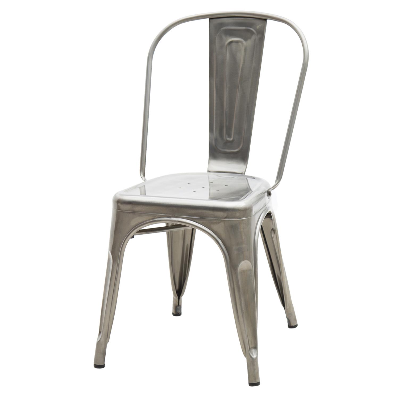 Sedia moderna in ferro colore nero qualit al miglior prezzo for Sedie in ferro design