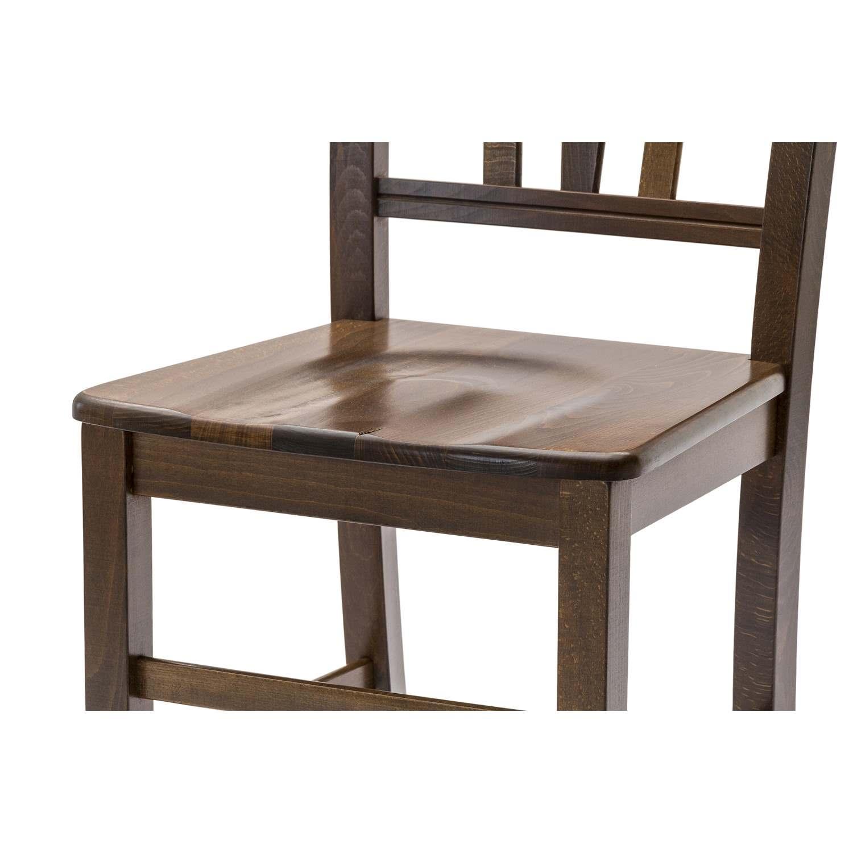 Sedute Per Sedie Di Legno.Sedia Silvana Con Fondino In Legno Massello 2 Pezzi Disponibile