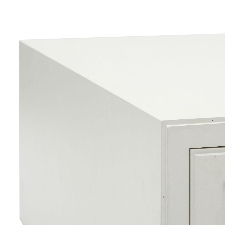 Tavolino Moderno Rettangolare In Legno Laccato Bianco. Il prezzo più ...