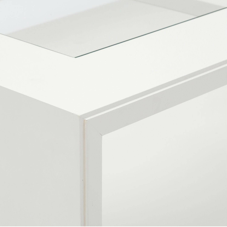 Tavolino moderno rettangolare da soggiorno in legno for Legno laccato