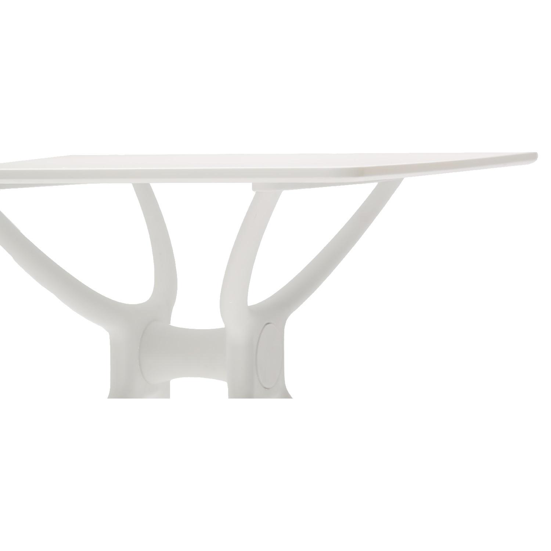 Tavolo Quadrato Colore Bianco