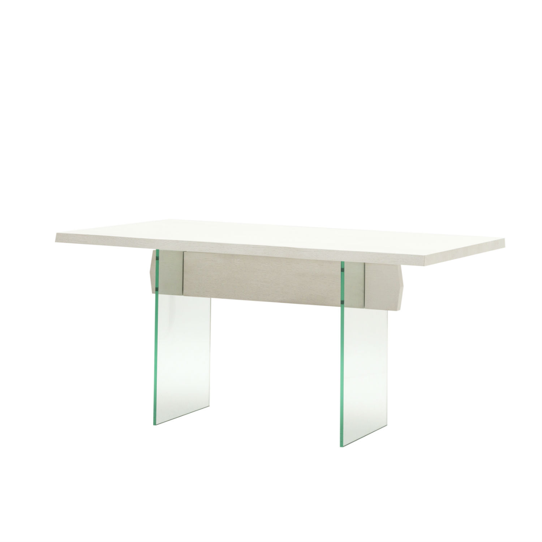Tavolo rettangolare da pranzo la qualit dei materiali in for Tavolo rettangolare bianco